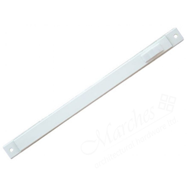 White Aluminium Window Trickle Vent 288mm: Aluminium Trimvent 90 Slimline 380mm
