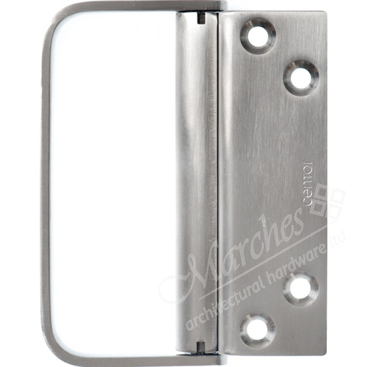 E3 External Offset Pull Handle Stainless Steel E3