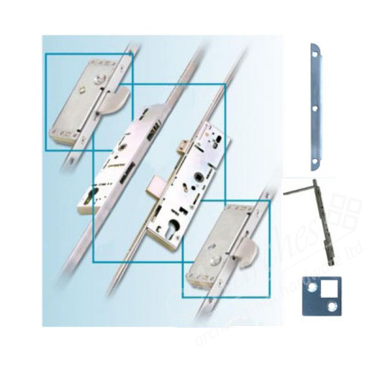 French Door Multipoint Locking System Kit For 44mm Door Thickness