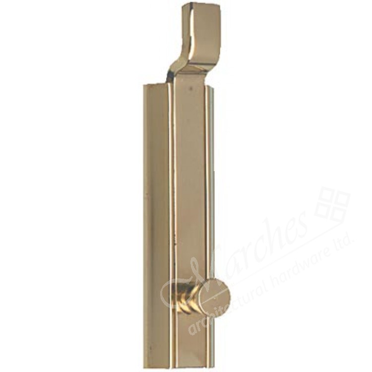 Furniture Bolt With Cranked Slide Surface Mounted