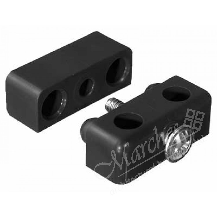 Modesty Knock Down Fittings Two Piece Surface Mounted