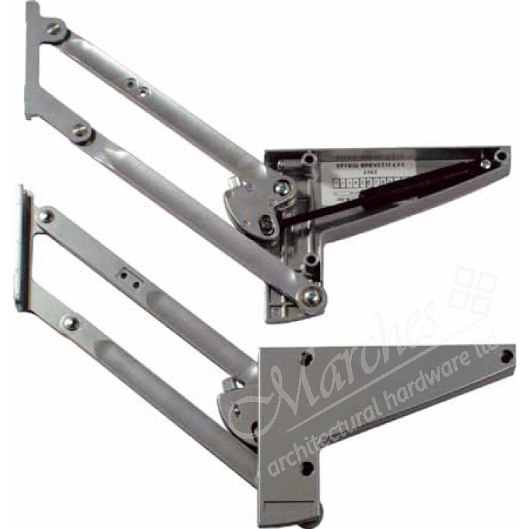 Hinged Door Lifts : Parallel lift up flap fittings stays