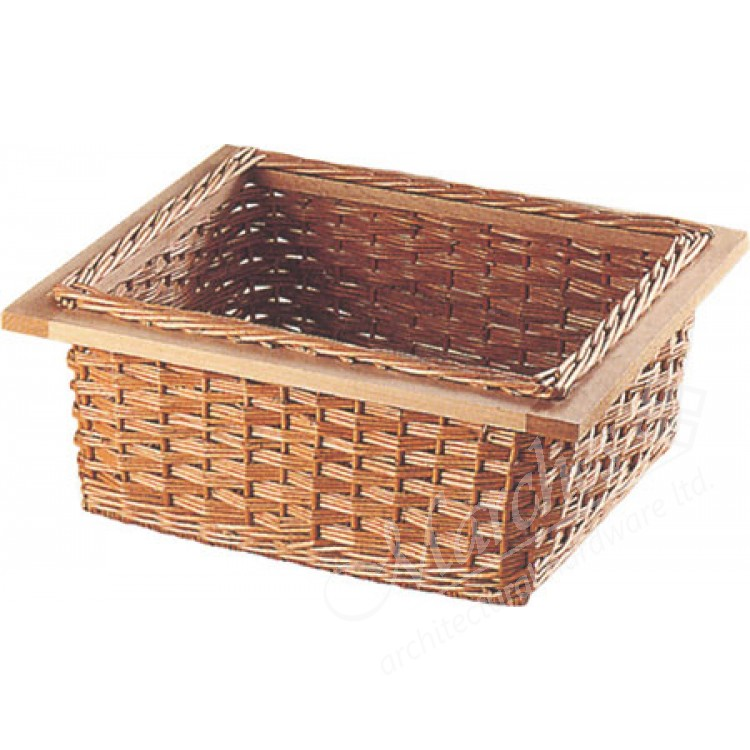 Wicker Baskets For 400 600 Mm Width Cabinets Pull Out Wicker
