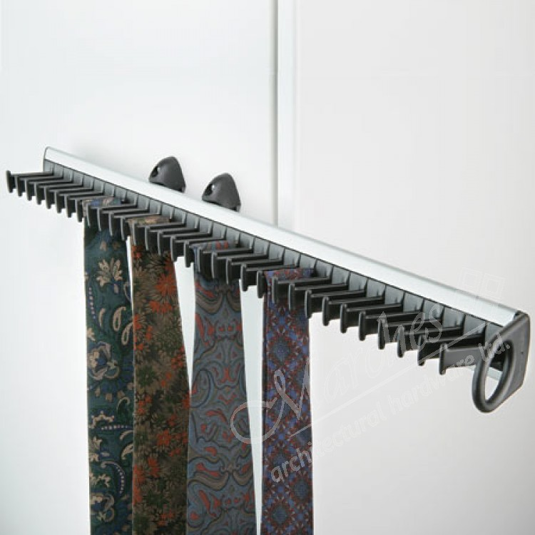Pull Out Tie Rack For 32 Ties Tie Belt Racks Bedroom