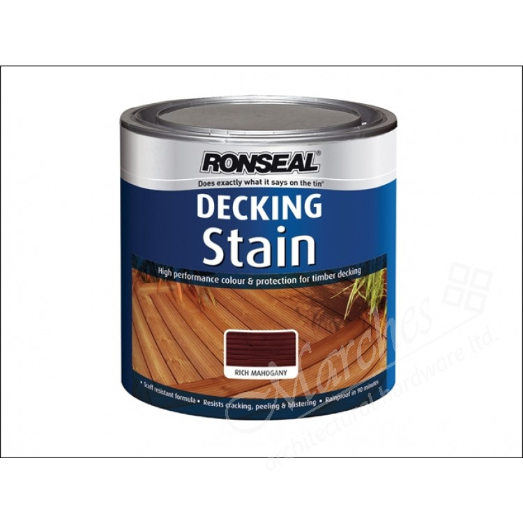 Decking stain country oak 2 5 litre decking decking for Decor 5 5 litre