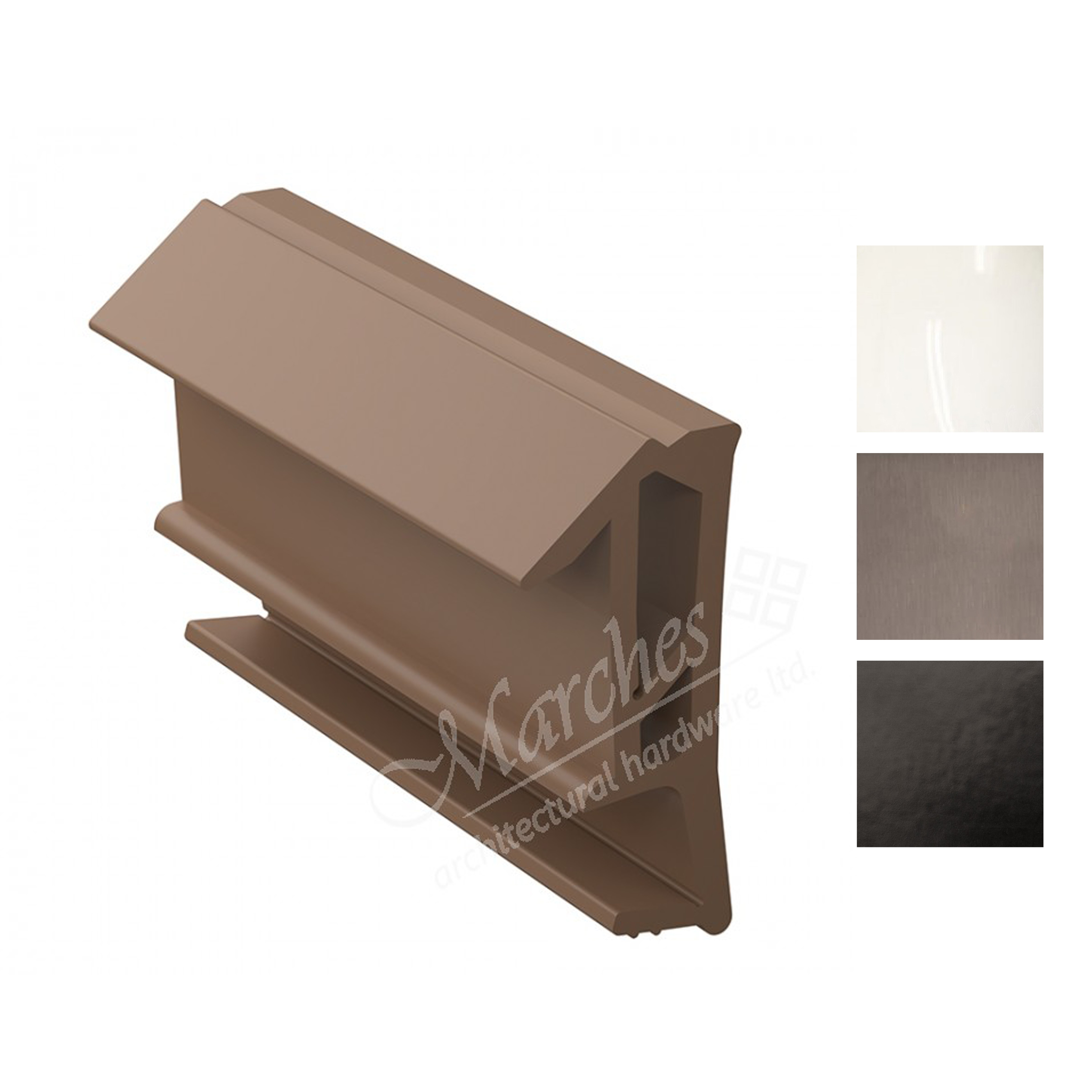 Deventer SPV124 12mm Rebate Weather Seal 150m - Various Finishes