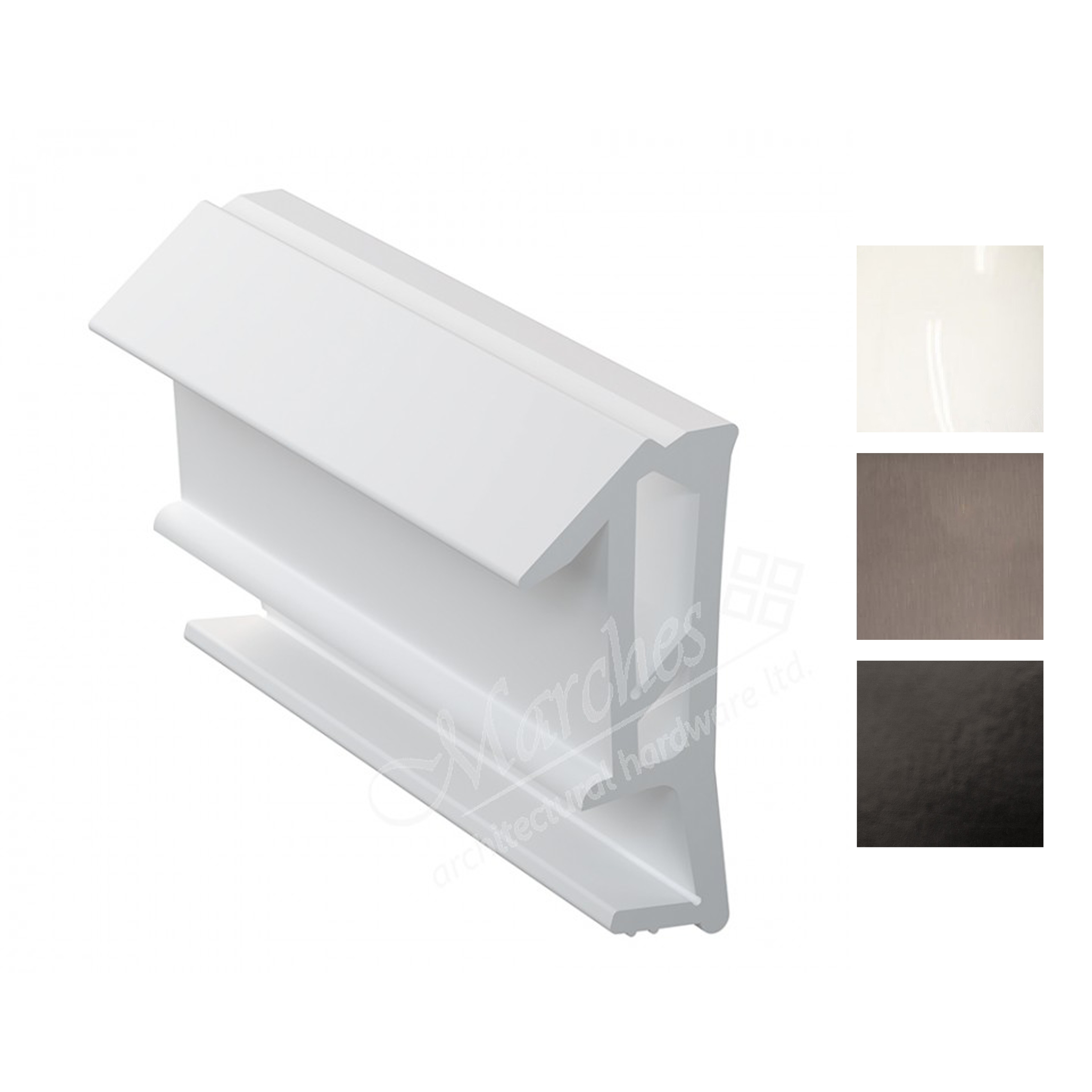 Deventer SPV124 15mm Rebate Weather Seal 150m - Various Finishes