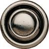 Knob Brass Ant 32x25mm