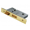 "Heavy Duty Bathroom Mortice Lock 2.5"" - PVD Brass"