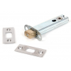 "Heavy Duty Tubular Bathroom Dead Bolt 4"" - SSS"