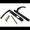Windsor Espag Handle (92mm Centres) - Black