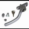 Fab & Fix Connoisseur Cranked Espag Handle RH - Satin