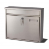 G2 Ouse Post Box - Satin Stainless Steel