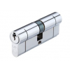 Eurospec 45/50 Euro Cylinder Keyed Alike - Polished Chrome