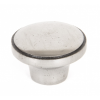 Ribbed Cabinet Knob - Natural Smooth