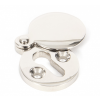 Round Escutcheon with Cover - Polished Nickel