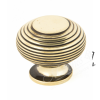 Beehive Cupboard Knobs - Aged Brass