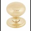Mushroom Cabinet Knob 38mm - Polished Brass