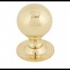 Ball Cabinet Knob 39mm - Polished Brass