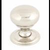 Mushroom Cabinet Knob 32mm - Polished Nickel