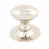Oval Cabinet Knob 33mm - Polished Nickel