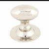 Oval Cabinet Knob 33mm - Polished Nickel