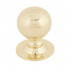 Ball Cabinet Knob 31mm - Polished Brass