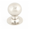 Ball Cabinet Knob 31mm - Polished Nickel