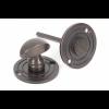 Round Bathroom Thumbturn - Aged Bronze