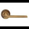 Velino Lever on Rose - Antique Brass