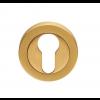 Euro Escutcheon - Satin Brass