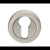 Euro Escutcheon - Satin Nickel