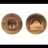 Bathroom Thumbturn & Release - Antique Brass