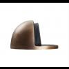 Oval Floor Mounted Door Stop 45mm - Antique Brass