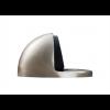 Oval Floor Mounted Door Stop 45mm - Satin Nickel