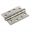 """4"""" Fire Rated Ball Bearing Butt Hinge (PR)  - Polished Nickel"""