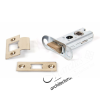 Heavy Duty Tubular Latch - Brass (Various Sizes)
