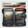 15 Piece HSS Brad Point Wood Drill Bit Set