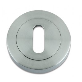 Escutcheon - Satin Chrome