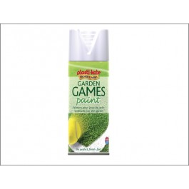 Garden Games Spray Paint White 400ml 4376