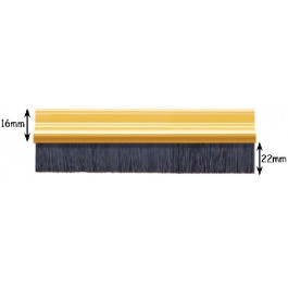 Exitex Brush Strip - Various Finishes