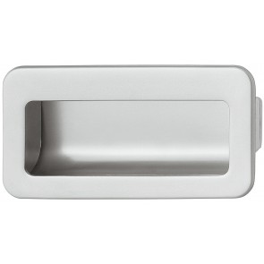 Flush Handle 110x56mm - Matt Chrome
