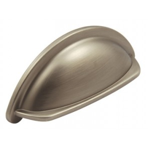 Ariel Cup Handle 76mm centres - Pewter Effect