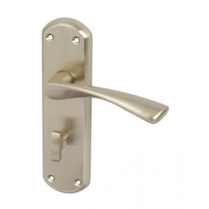 Olton Lever Bathroom Handle Set - Polished Chrome