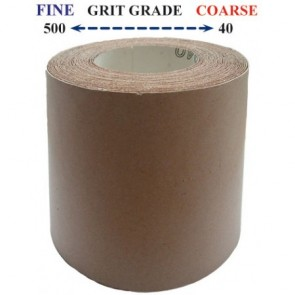 Small Abrasive Roll - 115mm x 10m
