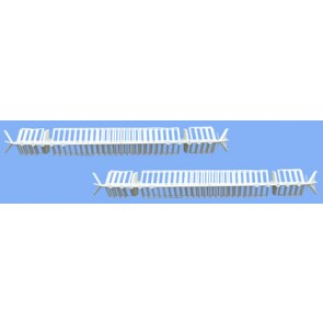 Titon Select Head Drips (pair) White