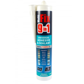 9 In 1 Adhesive & Sealant 290ml - White