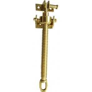 """12"""" Fanlight Screw Polished Brass"""