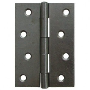 Steel Butt Hinges (pair) - Steel Self Coloured
