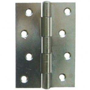 Steel Butt Hinges (pair) - Zinc